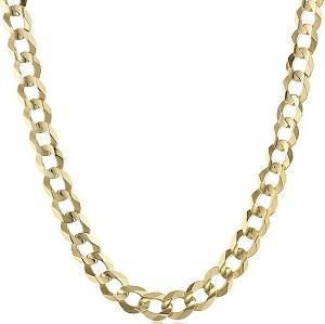 Men's 14k Gold 8.3mm Cuban Chain Necklace