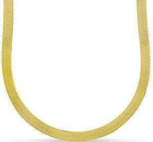 10k Yellow Gold Mens Womens 2.5mm Herringbone Necklace Chains