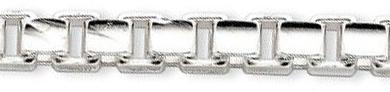 6mm-Sterling-Silver-Concave-Box-Chain-Bracelet-9-inch
