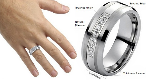 Mens Wedding Bands Commemorate The Love In Your Life