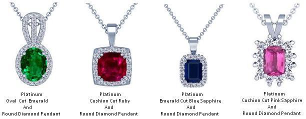 Platinum Pendants