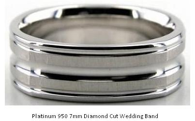 Platinum Wedding Band The Metal Platinum