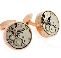 Tateossian Mechanical Industrial Gear Cufflinks