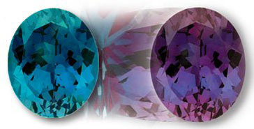 12x10mm Oval Gem Quality Chatham Cultured Lab-Grown Color-Change Alexandrite 5.53-6.75 Ct
