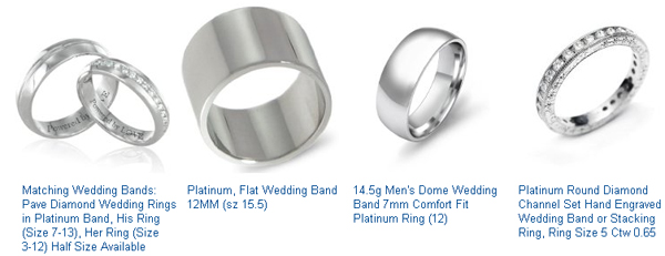 Mens Platinum Wedding Bands Mens Platinum Wedding Band