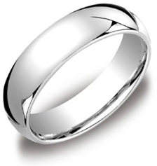 Platinum 6mm Comfort Fit Mens Wedding Band Mens Platinum Wedding Band