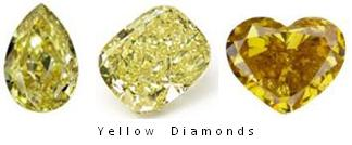 Yellow Diamonds Colored Diamonds