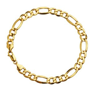 mens-10k-gold-figaro-chain-bracelet-yellow-gold-7.5mm-8.5-inches