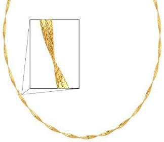 14K-Yellow-Gold-3mm-Twisted-Sparkle-Omega-Chain-Necklace-with-Lobster-Claw-Clasp-17-Inches