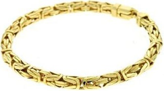 14k-Yellow-Byzantine-5.3mm-Bracelet
