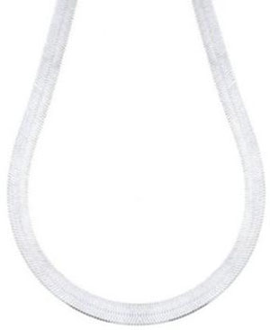 Sterling-Silver-080-Flexible-Herringbone-Chain-Necklace-8mm