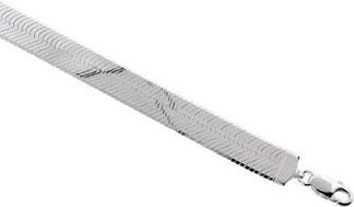 Sterling-Silver-Italian-Magic-Herringbone-Chain-Necklace