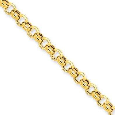 5mm-14-Karat-Yellow-Gold-Rolo-Chain-16-inch