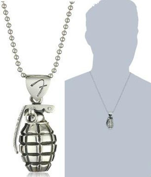 King-Baby-Fender-Mens-Grenade-Pendant-Necklace