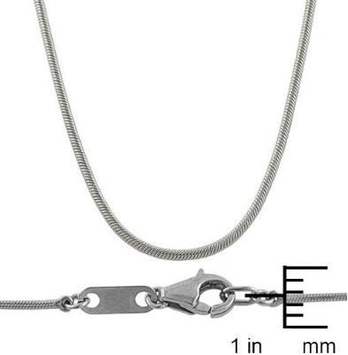 Platinum-1-mm-Round-Snake-Chain-18-Inch