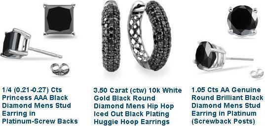 Black-Diamond-Earrings-For-Men