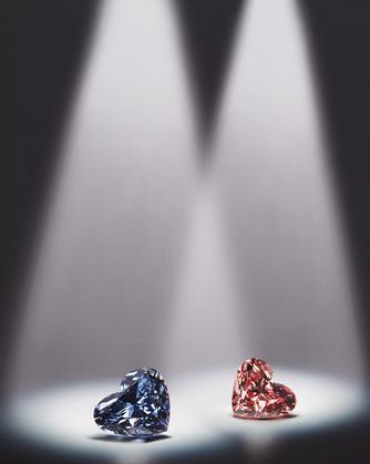 The 0.71ct Argyle Celestial Fancy Dark Gray-Blue diamond