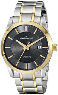 Mens 80093 357J GID2 Classic Automatic Analog Display Swiss Automatic Two Tone Watch Claude Bernard Watches