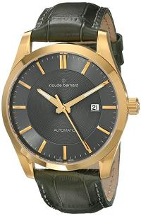 Claude Bernard Men's 80092 37J GID2 Classic Automatic Analog Display Swiss Automatic Black Watch