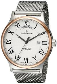 Claude Bernard Men's 83014 357RM AB Classic Gents Automatic Day-Date Analog Display Swiss Automatic Two Tone Watch