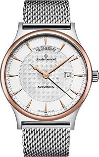 Claude Bernard Men's 83014 357RM AIR Classic Gents Automatic Day-Date Analog Display Swiss Automatic Two Tone Watch