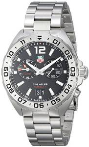 Mens WAZ111A.BA0875 Analog Display Watch with Link Bracelet TAG Heuer Watches