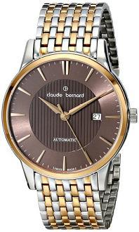 Claude Bernard Men's 80091 357RM BRIR Classic Automatic Analog Display Swiss Automatic Two Tone Watch