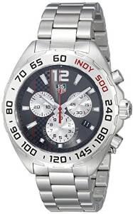 TAG Heuer Mens CAZ1114.BA0877 Formula 1 Analog Display Swiss Quartz Silver Watch