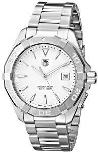 TAG Heuer Mens WAY1111.BA0910 Analog Display Quartz Silver Watch
