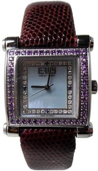 Effy Park Avenue Diamond & Amethyst Mother-of-Pearl Dial Ladies Watch