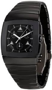 Rado Men's R13764152 Sintra Black Dial Watch