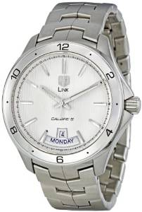 TAG Heuer Men's WAT2011.BA0951 Link Silver Dial Watch