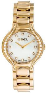 Ebel Womens Beluga Yellow Gold Diamond Watch