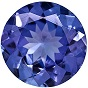 Natural Tanzanite AAA Quality loose Gemstone 7 mm Faceted Round