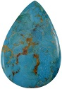 Natural Turquoise Pear 81.5 Cts loose Gemstone