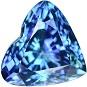 12.59 Ct. Sensational D Block Aaaa Natural Tanzanite Loose Gemstone