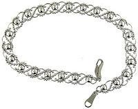 Platinum 950 Filigree Design Ladies Bracelet