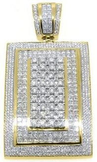 14k-Yellow-Gold-Invisible-Diamond-Pendant