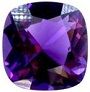12 mm Cushion Cut Loose Natural African Amethyst