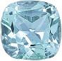 Cushion Aquamarine Loose Gemstone