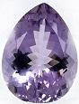 Teardrop Shape Natural Purple Amethyst Faceted Loose Gemstone