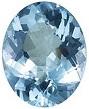 Oval Aquamarine Loose Gemstone