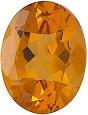 Loose Oval Shape Citrine Gemstone Grade AA