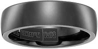 Men's Tantalum 6.5mm Comfort-Fit Plain Wedding Band